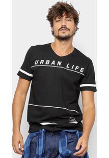 Camiseta Manga Curta Kohmar Urban Life Masculina - Masculino