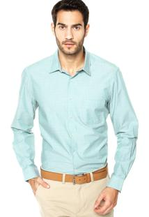 Camisa Richards Geo Verde