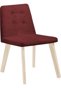 Cadeira Caqui F57-1 Lona – Daf Mobiliário - Vinho