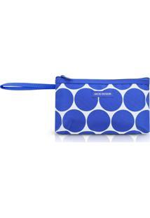 Necessaire Com Alça P Jacki Design Dots Azul