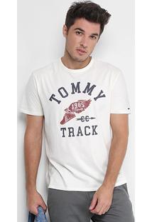 Camiseta Tommy Hilfiger Estampada Masculina - Masculino