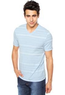 Camiseta Perry Ellis Horizontal Azul
