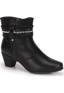Ankle Boots Mooncity Trançada