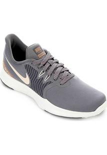 Tênis Nike In-Season Tr 8 Prm Feminino - Feminino-Cinza+Dourado