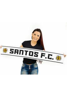 Cachecol Santos Fc Alta Definição - Unissex