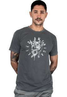 Camiseta Bleed American Kingstone Chumbo