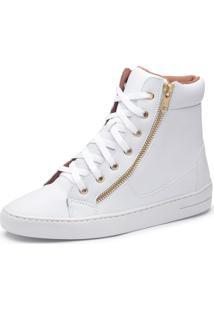 Bota Casual Top Franca Shoes Branco