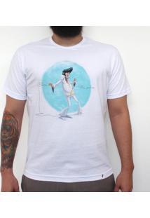 Elvis, The Pelvis - Camiseta Clássica Masculina
