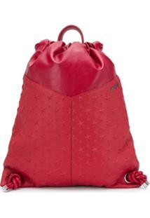 Jimmy Choo Marlon Backpack - Vermelho