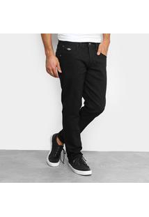 Calça Jeans Slim Triton Gilson Super Escura Masculina - Masculino