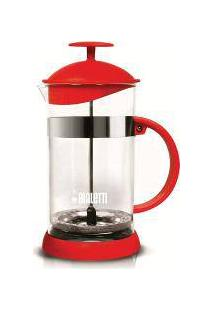 Cafeteira French Press 1 L Vermelha Basic