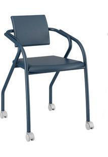 Cadeira Jersey Carraro Azul Noturno