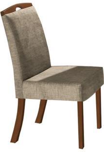 Cadeira Nicole 2 Peças - Imbuia - Cor 35