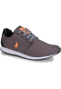 Tênis Jogging Masculino Polo Royal - Grafite