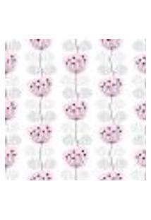 Papel De Parede Adesivo - Flores Rosas - 034Ppb
