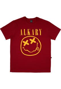 Camiseta Alkary Nirvana Vermelha