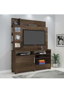 Estante Home Para Tv Até 50 Polegadas Aporé Jcm Móveis Flex Color Cacau/Fendi