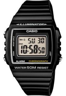 Relógio Casio W-215H-1Avdf Preto - Kanui