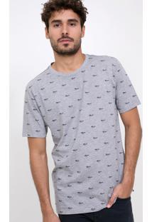 Camiseta Estampada Óculos