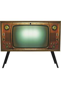 Armário Casa Da Mãe Joana 1 Porta Basculante Tv Retrô