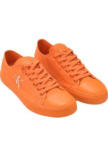 Tenis Ckj Masc Lona Re Issue Unicolor - Laranja - 41
