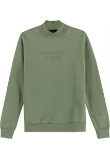 Blusão Verde Musgo It'S Different Em Moletom