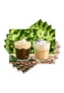 Jogo Americano - Café Com 4 Peças - 905Jo