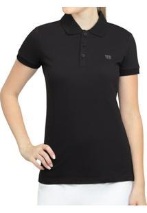 ... Camisa Polo Wilson Logo Piquet - Feminino f6f8aa9c0c294