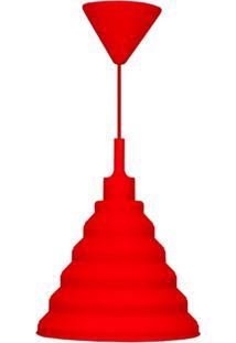 Pendente Taschibra Make Color Vermelho