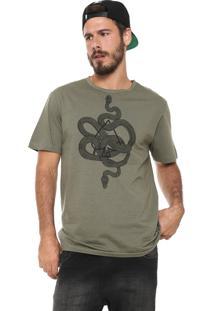 Camiseta Mcd Snakes Verde
