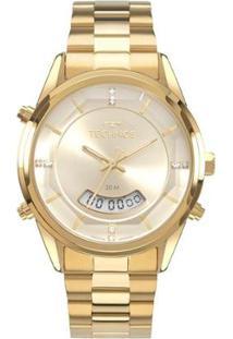 Relógio Technos Classic Analógico Feminino - Feminino-Dourado