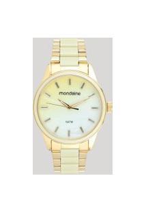 Relógio Analógico Mondaine Feminino - 53663Lpmvde1 Dourado