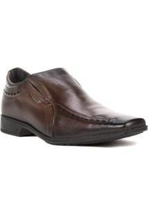 Sapato Casual Masculino Pegada - Masculino-Marrom