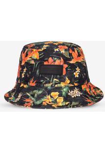 Bucket Hermoso Compadre Tropical - Masculino-Preto