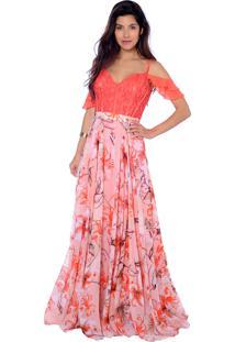 Vestido Gowara Festa Coral