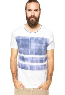 Camiseta Aramis Estampa Branca