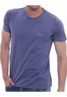 Camiseta Oitavo Ato Mouse Indigo - Masculino-Azul