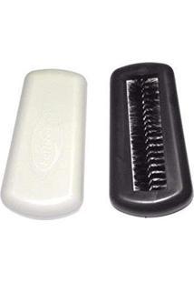 Escova Rotativa Mini Vassoura Feiticeira Tira Pelos Papa Migalha Para Mesa E Estofados