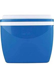 01a53d0a2b ... Caixa Térmica Cooler 18 Litros Resistente Prática Com Alça Comporta 24  Latinhas Azul Mor