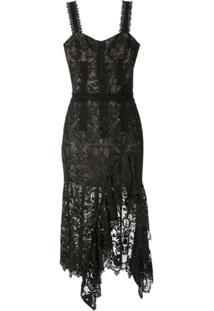 Bronx And Banco Vestido Tiffany - Preto