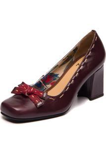 Sapato Sophia Loren Acai / Marsala 5978 - Kanui