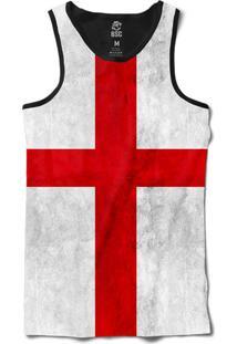 ... Regata Bsc Bandeira Inglaterra Sublimada Preto b9507db28a7