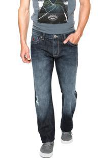 Calça Jeans Forum Paul Estonada Azul