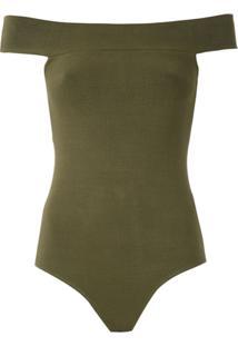 Magrella Body 'Bateaux' De Tricô - Verde
