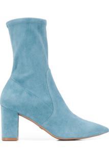Stuart Weitzman Ankle Boot Lucinda - Azul
