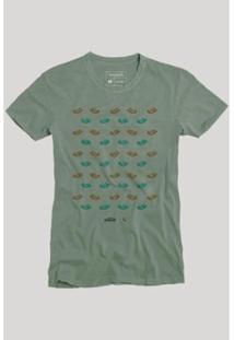 Camiseta Reserva Cars Masculina - Masculino-Verde