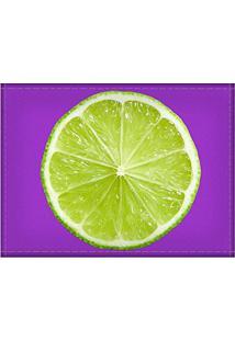 Jogo Americano Decorativo, Criativo E Descolado | Limão - Tamanho 30 X 40 Cm