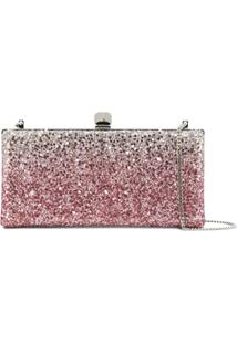 Jimmy Choo Clutch 'Celeste' - Rosa