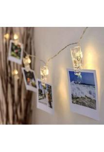 Luminaria Varal De Fotos - Zona Criativa