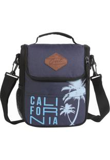 Bolsa Térmica Out Califórnia - Azul Marinho & Azul Clarodermiwil